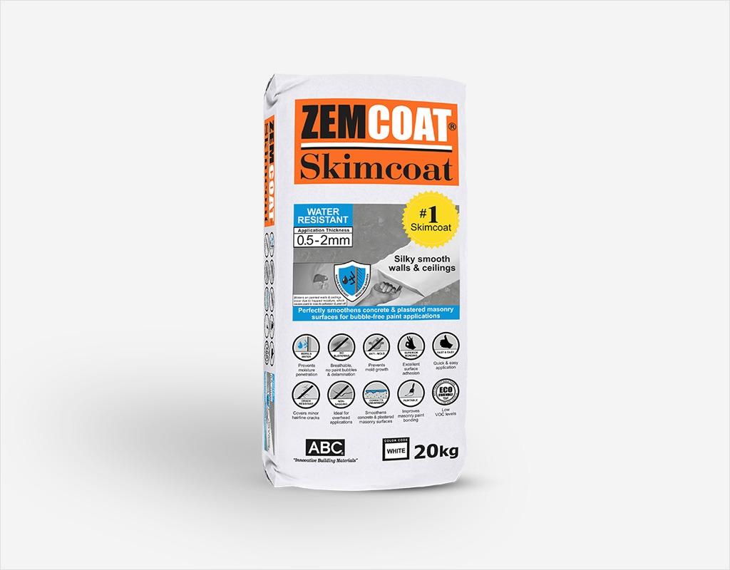 Zemcoat Skimcoat Water Resistant